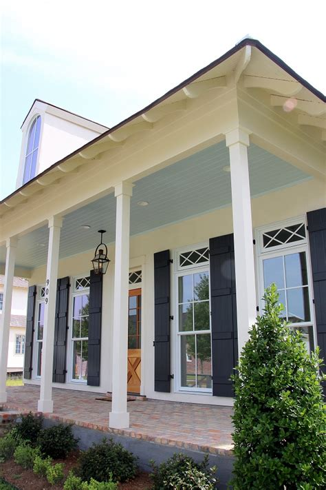 Haint Blue Porch Ceiling by Southern Style Haint Blue Porch Ceilings On The New