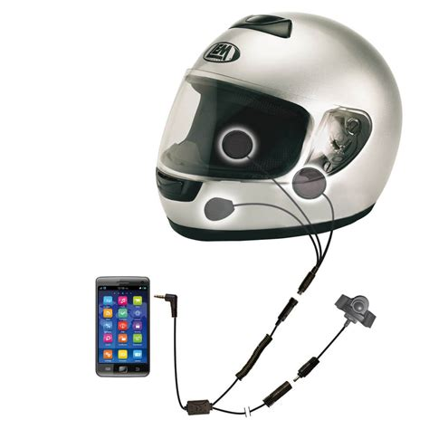 Headset F R Motorradhelme by Shs 300i Motorradhelm Stereo Headset