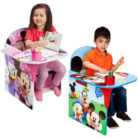 toddler desk chair with storage bin your choice of