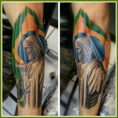 messi clock tattoo christ the redeemer tattoo tattoo ideas pinterest