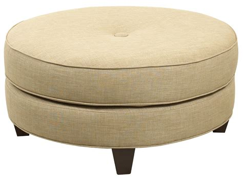 round ottoman chair klaussner chairs and accents round pippa ottoman with