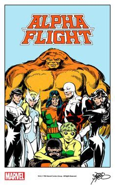 alpha flight by john chions by john byrne one of my comic book heroes in high form art i dig