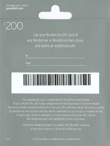 Can You Use A Nordstrom Gift Card At Nordstrom Rack by Nordstrom Gift Card 200 Gift Card Alley