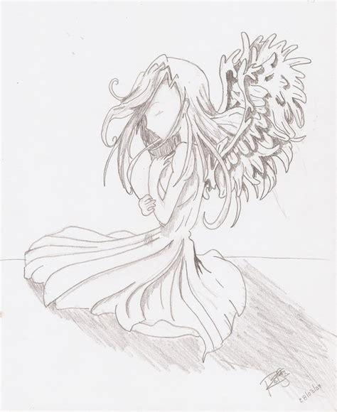 imagenes a lapiz de angeles dibujos a lapiz de angeles imagui