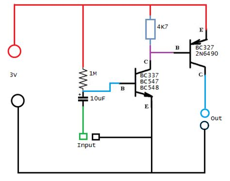 transistor bc337 funcionamiento armate tu lificador de audio con 2 transistores d taringa