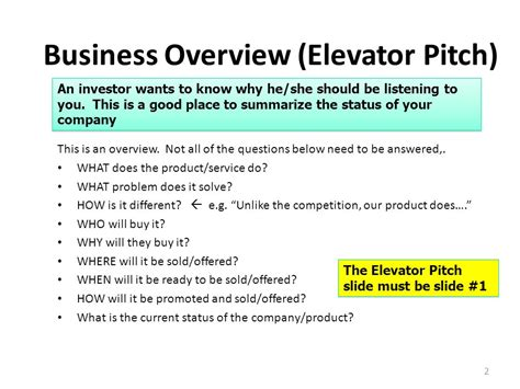 Company Name Sle Template Presenter Name Ppt Video Online Download Business Overview Template