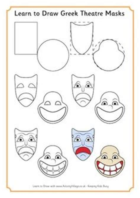 ancient mask template 3 mask templates teaching masks and mask