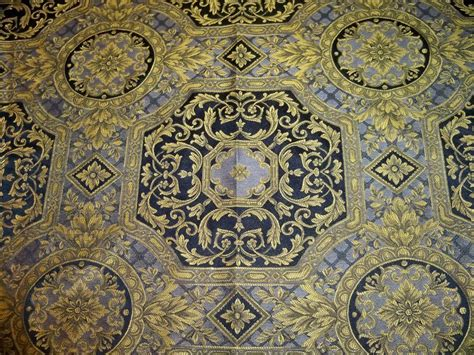 versace upholstery fabric black gold versace style medallions damask fabric 10
