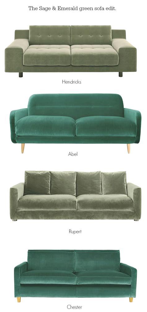 sofas habitat littlebigbell green velvet sofas from habitat trends