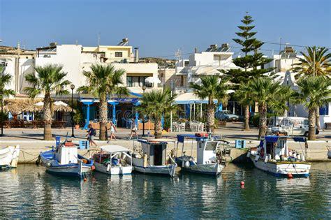 porto della grecia porto di kardamaina e banchina isola grecia di kos