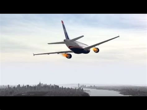 Miracle Landing Free Us Airways Flight 1549 Hudson Miracle Recreation In Fsx