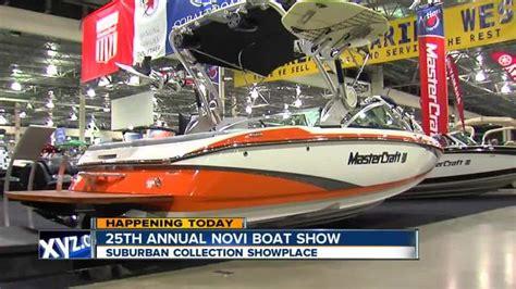 novi boat show 25th annual novi boat show coming to the suburban