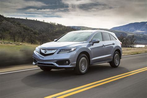 2016 honda acura crossover utility vehicle review
