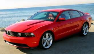 time for a four door mustang all signs point to yes stangtv
