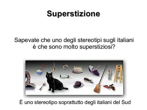 oggetti portano sfortuna superstizioni italiane