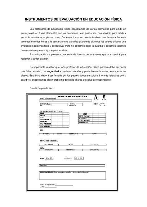 preguntas basicas para hacer un informe instrumentos de evaluaci 243 n en educaci 243 n f 237 sica