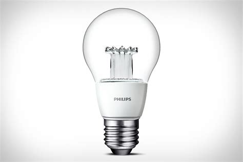 led light bulbs philips clear led light bulb uncrate