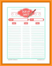 Printable Thanksgiving Potluck Sign Up Sheet Template by Thanksgiving Potluck Sign Up Sheet Letter Format Mail