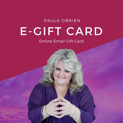 Uk E Gift Cards - e gift card paula obrien uk psychic medium