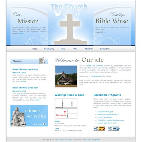 search results for template for church program free