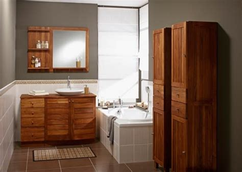 meuble salle de bain teck ikea meuble vasque wellington