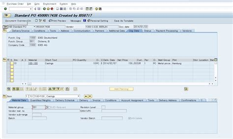 bapi tutorial in sap abap function module fm bapi po change purchase order po in