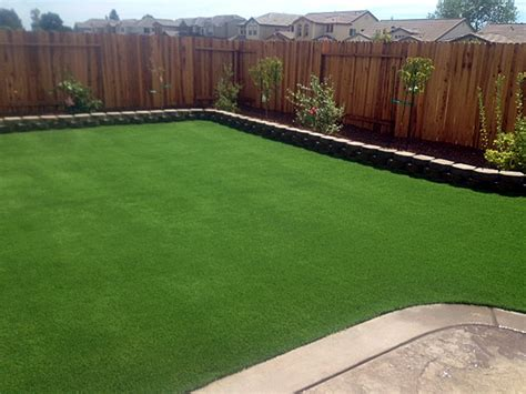 fake grass backyard artificial turf sutherlin oregon landscape rock small