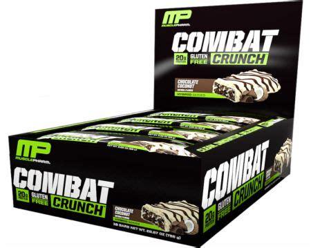 Musclepharm Combat Crunch Mp Combat Crunch Protein Bar 1 combat crunch bars musclepharm