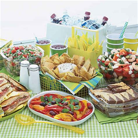 a memorial day picnic myrecipes