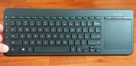 Keyboard Microsoft microsoft all in one media keyboard review best keyboard with touchpad for multimedia