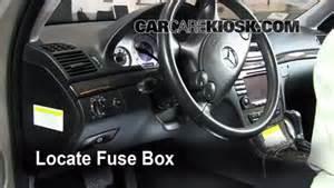 interior fuse box location 2003 2009 mercedes e350 2008 mercedes e350 4matic 3 5l