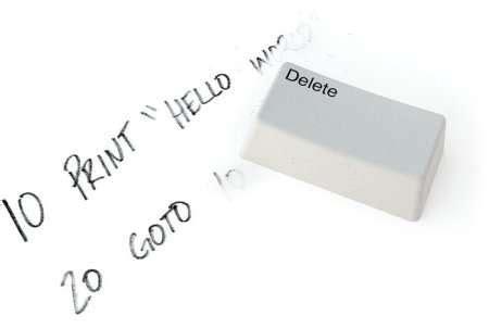 Delete Key Eraser by Delete Key Eraser Eraser For Geeks