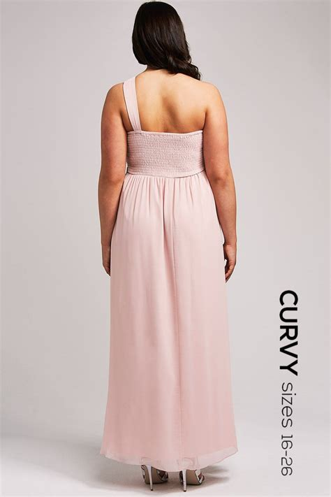 one shoulder maxi dress from uk