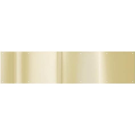 Brass Kick Plates For Front Doors Brass Kick Plate For Front Door Gold Brass Kick Plate Home Rehab Kick Plate Colors And The O