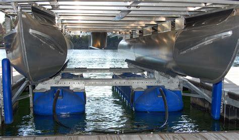 boat lift pump hydrohoist boat lift for a pontoon lifestyle pinterest