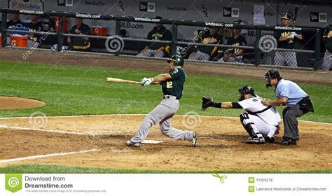 major league baseball swings baseball major league hitter swinging editorial stock