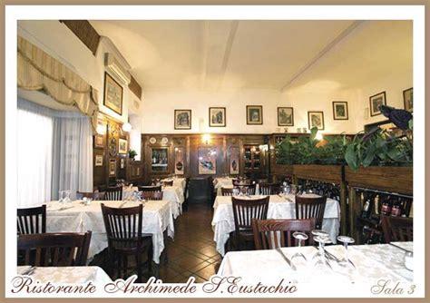 ristoranti cucina romana roma ristorante archimede s eustachio roma ristorante cucina
