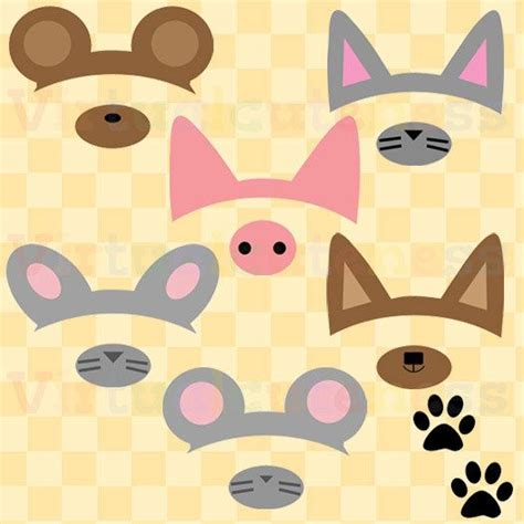 free printable animal ears 446 best images about photo booth on pinterest diy photo