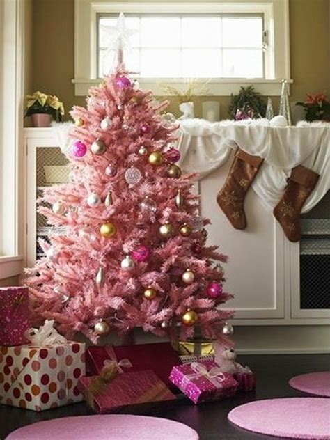 decorating a pink christmas tree 20 amazing ways to spread pink decor throughout your home