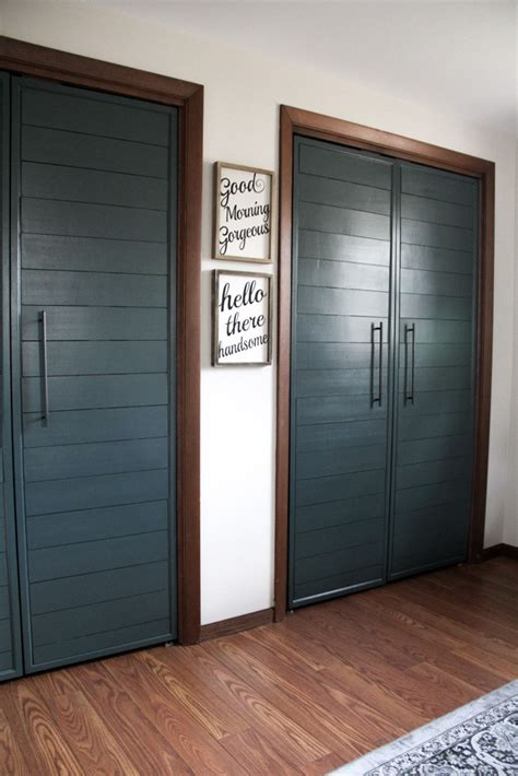 Closet Doors 18 Closet Door Makeovers That Ll Give You Closet Envy