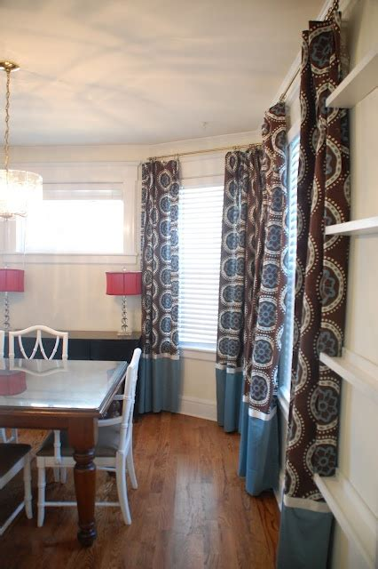 do curtains need to touch the floor 1000 ideas about color block curtains on pinterest