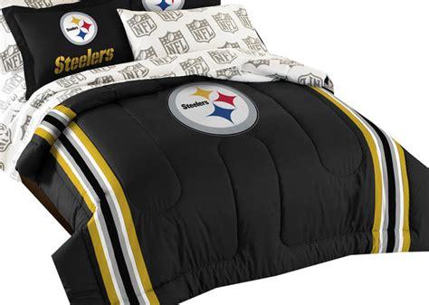 steelers comforter pittsburgh steelers bedding football comforter sheets