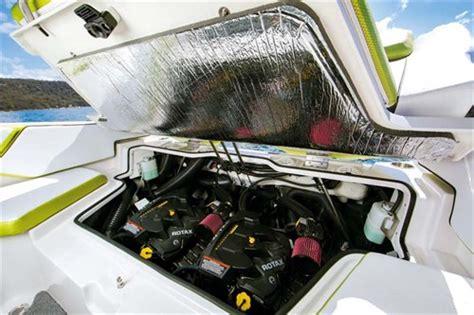 scarab boats twin engine scarab 215 ho impulse review trade boats australia