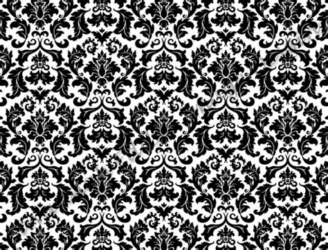 white pattern sheets black white damask pattern great for strips edible image