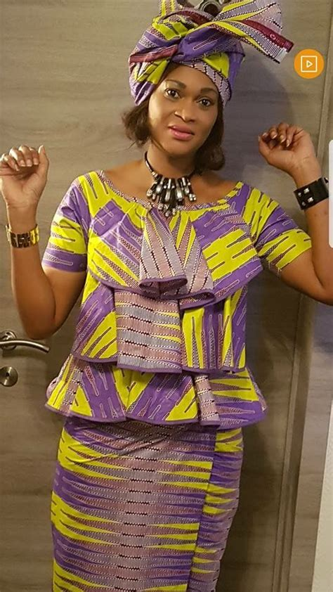 Simple Ankara Blouse Styles