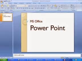 pengertian aplikasi komputer ms office power point