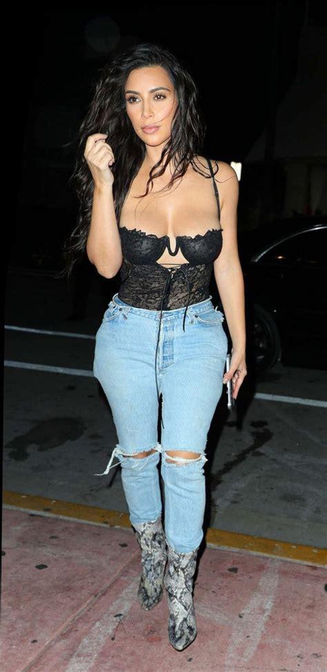 Georgina Duvet Jeans Bodysuit Bustier Underwear Bra Bralette Kim