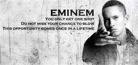 eminem one shot lyrics but you only get one shot so boy you better aim logic 4