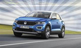 vw t roc 2017 revealed new suv specs design and