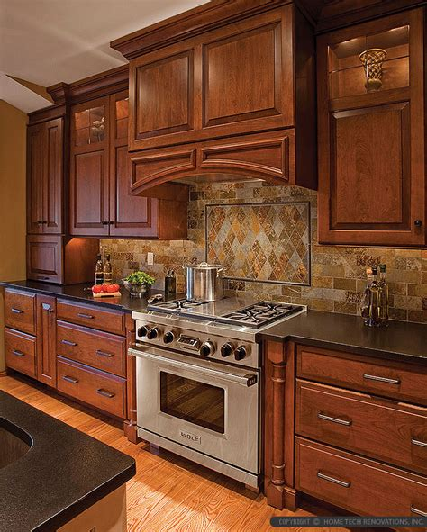 backsplash tile for dark brown cabinets brown gray subway slate backsplash tile backsplash